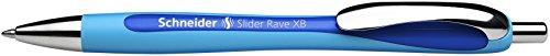 Schneider Slider Rave XB Kugelschreiber (Strichstärke: XB, dokumentenechte Mine, Schreibfarbe: blau)