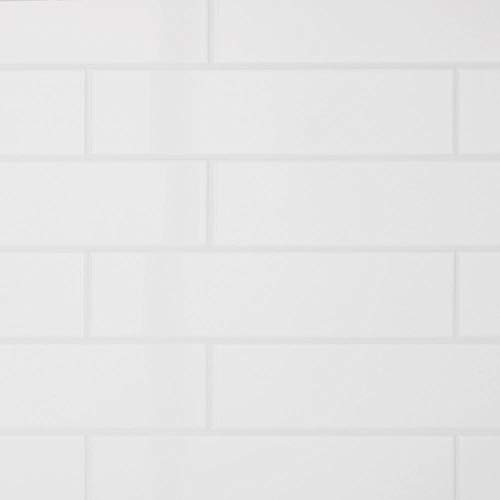 Restore Bright White 3 in. x 12 in. Ceramic Subway Wall Tile (12 sq. ft. / Case)