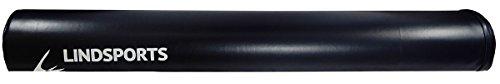 LINDSPORTSストレッチングクッションロングハーフネイビー(半円柱・かまぼこ型)