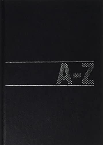 Brunnen 1064658 Schuppen-Telefonregister Adressbuch (Softeinband, 210 x 148 x 10 mm) schwarz