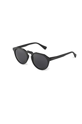 HAWKERS Gafas de Sol Warwick Carbon Black, Hombre y Mujer, un clásico renovado Que combina Montura Mate y Lentes, Protección UV400, Negro polarizado, One Size Unisex-Adult