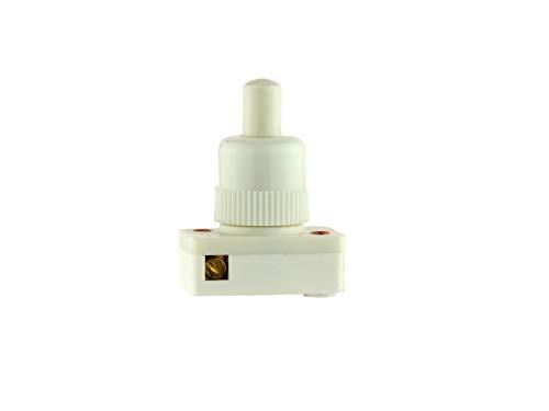 Interruptor de botón de encendido/apagado, marca Castelco, 1 Amp 250 Vac, alta calidad, fabricado en el Reino Unido