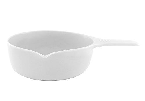 inducTHERM Cook & Serve 0, 75 l/ 16 cm Kasserolle, Porzellan, weiß