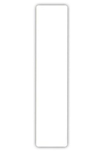 2 grote cijfers voor vuilnisbakken zelfklevende stickers witte nummer -1