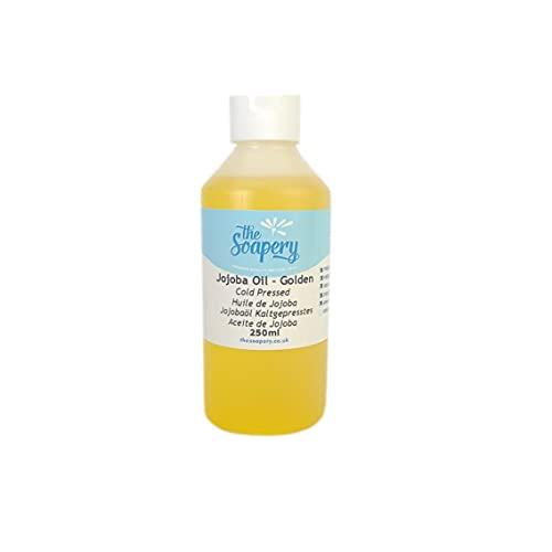 Olio di jojoba dorato 250ml–100% puro, naturale e non raffinato