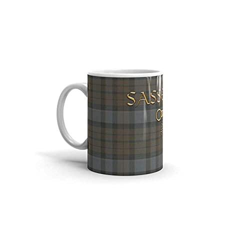 Jupsero Calanaram TARTAN SASSENACH Outlander saison 4 épisodes 11Oz tasses à café en céramique 6372660669560 IMMBQP