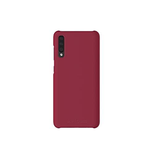 Samsung Galaxy A70 - Carcasa para Samsung Galaxy A70, color rojo y rojo