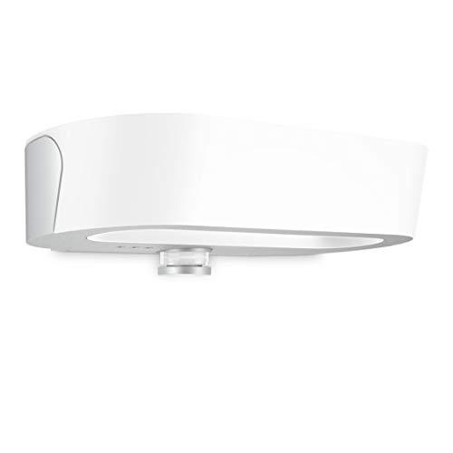 Steinel LED Außenwandleuchte L 710 LED Silber, 8.6 W Up-/Downlight, Wandlampe mit Bewegungsmelder, Nachtlicht, Softstart