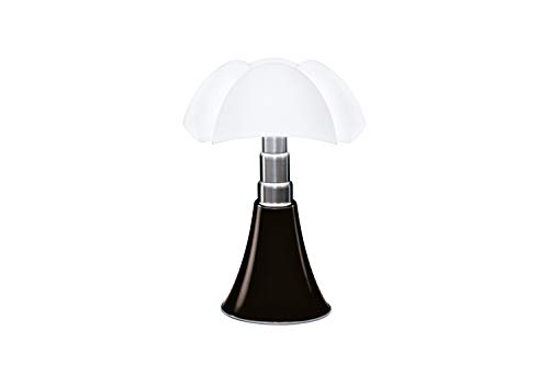 Martinelli Luce 620/MA Pipistrello Lampe de Table Tête de Nègre