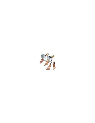 EXPRESS 4678 Accessoire Lampe à souder-Fer de Couvreur-Chalumeau d'étanchéité Rechange-Pièce détachée-Ensemble Panne + Lance 35 x 3,5 mm-540 g-94 g/h à 2 Bar