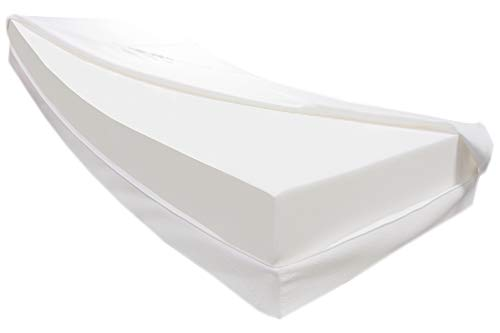 Dibapur Vulcano: colchón de espuma fría ortopédico H3 con funda de aloe vera aprox. 25,4 cm Ideal para camas con somier – Fabricado en Alemania (175 x 190 cm)