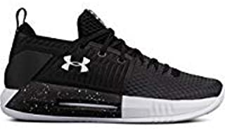 Under Armour New Men's Drive 4 Low Basketball Shoe Black/White Size 6