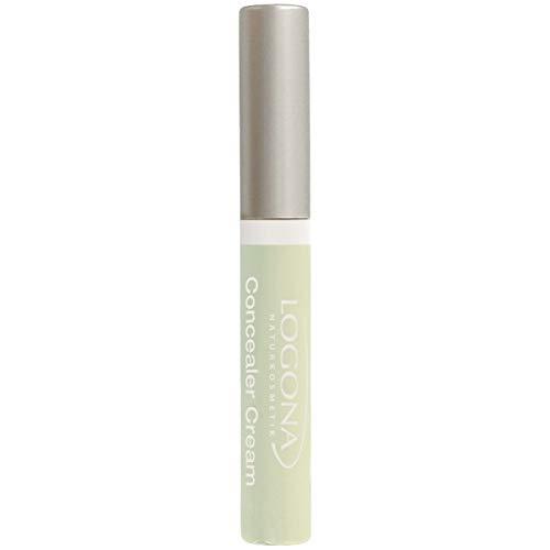 LOGONA Naturkosmetik Concealer Cream No. 03 Redness Neutralizer, Abdeckcreme für Rötungen, Natural Make-up, mit Anti-Aging-Wirkung, Bio-Extrakte, Vegan, 5 ml