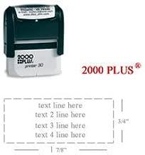 Cosco 2000 Plus Printer 30 Rubber Stamp