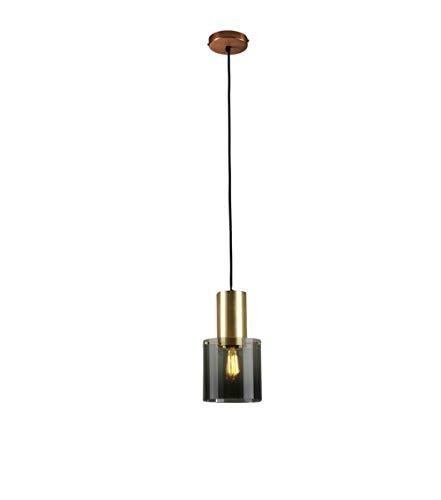 Lampadario a Pendenti Paralumi Moderni - Lampada Plafoniera a Sospensione a Comodino Caffetteria Retro Lampada da Testa Singola Ristorante Bar (Stile B)