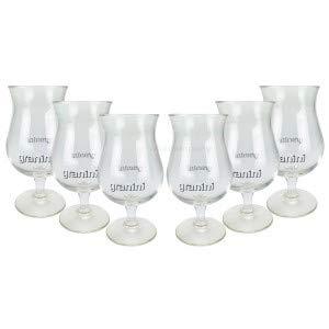 6 x Granini Glas Gläser Cocktailglas Saftglas - 0,3l geeicht Cocktail Gastro Bar inkl. PFAND