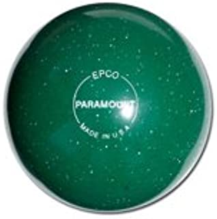 EPCO Duckpin Bowling Ball- Speckled Houseball - Green - Single Ball