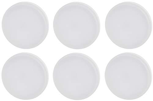 6er PACK - LED GX53 Leuchtmittel - 3 Watt - 260 Lumen - CRI 80Ra - blendfrei - Abstrahlwinkel 120° - warmweiß (3000 K)