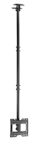 NVS LCD50 Supporto staffa da soffitto per tv lcd led 24 26 28 32 40 42' pollici, nero