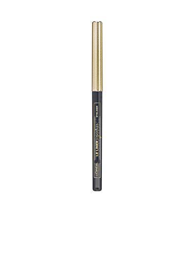 L'Oréal Paris Le Liner Signature 08 Taupe Grey Tweed, präziser & langanhaltender Eyeliner, Stiftform mit herausdrehbarer Mine, wisch- und wasserfest