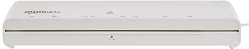 Amazon Basics 12-Inch Thermal Laminator Machine with Rapid Warm-Up (1 min)