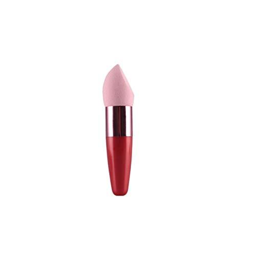 nbvmngjhjlkjlUK Cosmetic Puff Makeup Sponge Silicone Sponges Stick Make Up Beauty Foundation Tool Sponge Blender Brush (Pink)