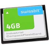SWISSBIT SFCF4096H1AF1TO-I-GS-51P-STD Memory Cards 4GB Compact Flash PSLC C-56 I-Temp