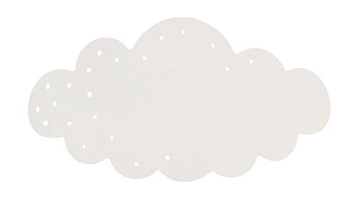 Tosel 31880 Applique 1 Lumière, Bois hêtre Massif, laquée Tube Acier, Peinture epoxy, Abat-Jour Toile de Jute, E14, 40 W, Vert, 77 x 9 cm