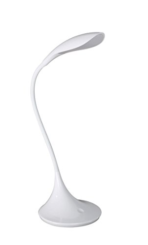 WOFI Tischleuchte, 1-flammig, Serie Yon, 1 x LED, 5.5 W, Höhe 37.5 cm, Durchmesser 17 cm, Kelvin 300