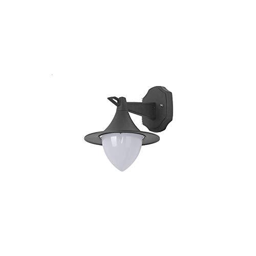 DEPAOSHJ Outdoor schwarze Wand Außenwandleuchte Nachtlicht Außenwandbeleuchtung Wandleuchte Outdoor LED Retro Outdoor wasserdichte Tür Licht Wandleuchte zweiteilig (Color : 1 pack)