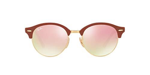 Ray-Ban 4246 Gafas de sol, Top Brown Trasparent Grey, 51 Unisex-Adulto