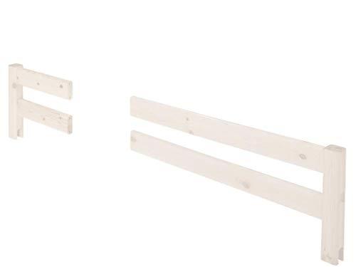 FLEXA Classic Vordere geteilte Absturzsicherung für Bett 200cm 80-01608-2
