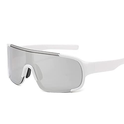 HGJINFANF Gafas de Sol for Correr de Moda, Gafas de Sol de Ciclismo de Pesca Resistente a los Rayos UV, Gafas Deportivas de Ciclismo al Aire Libre
