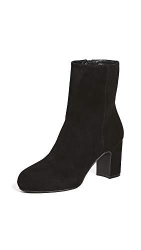 Stuart Weitzman Women's Gianella Booties, Black, 10 Medium US