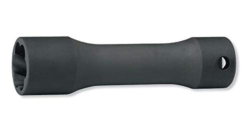 飛ぶ制裁パトワコーケン 1/2(12.7mm)SQ. ナットツイスター(ディープ) 全長120mm 17mm 4128.120-17