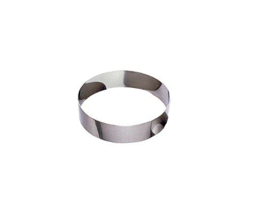 Gobel 865070 Cercle à Mousse EmportePièce Inox Hauteur 4,5 cm Ø 22 cm