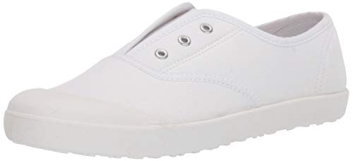 White Canvas Shoes for Girls