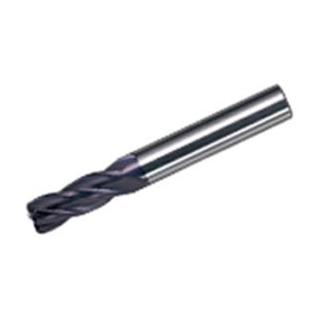急降下流体導出三菱マテリアル 4枚刃ミラクルラジアスエンドミル(J)0.5R×6 VC4JRBD0600R0050