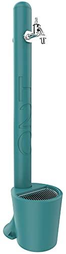 Arkema Design - ARKEMA GH115 20 6033 Turchese Fontanella per Giardino con Secchio Tulip