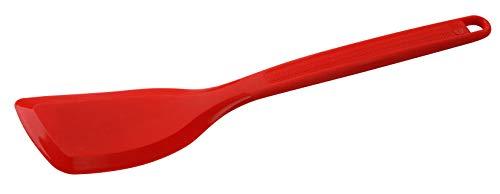 Dr. Oetker Silikon-Wender FLEXXIBEL Love, Pfannenwender aus hochwertigem Platinsilikon, spülmaschinengeeignet, vielseitiger Wender für Brat- und Backgut, aufhängbar (Farbe: Rot), Menge: 1 Stück