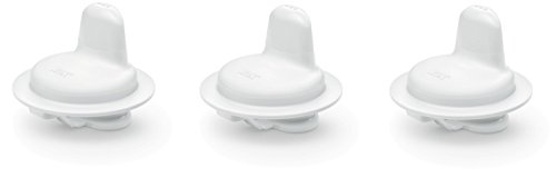NUK 10255311 First Choice Active Harte Trinktülle für Kiddy Cup, weiß, 3er Pack (3 Stück)