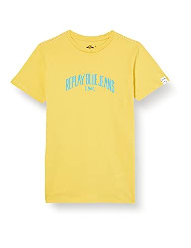 REPLAY SB7308 Camiseta, 510 Sun, 12 Años para Niños