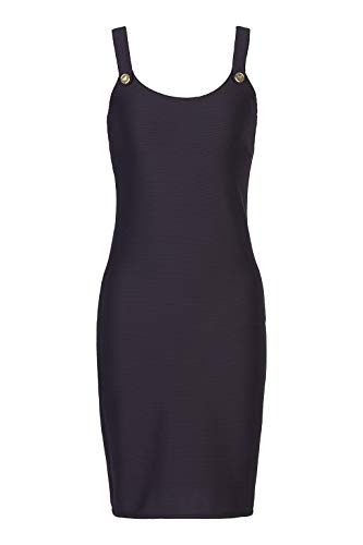 Emporio Armani Swimwear Damen Little Dress Beachwear SAIL Away Strandkleid, Schwarz (Nero 00020), 34 (Herstellergröße: XS)