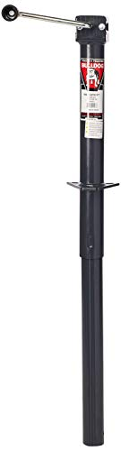 Bulldog Fulton Sidewind 14 Travel A-Frame Jack 5000-Pound Gray, 24 x 7.5 x 4.5'