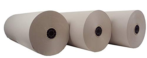3 Rollen Schrenzpapier Packpapier 80g/m² 50 cm x 250 lfm a 10 kg mit Innenhülse