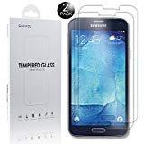 Ganvol 2 Pezzi Pellicola Protettiva ultraresistente in Vetro Temperato per per Samsung Galaxy S5/ S5 Neo/ S5 Duos/ G900/ SM-G900F, non rimangono bolle d'aria, L'installazione è stata facile, Qualità Ottima