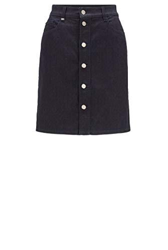 BOSS Damen Jeans_skirt Rock, Navy410, 29 EU