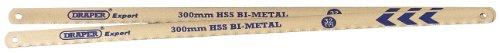 Draper Expert 38265 Sägeblätter für Bügelsäge, 300 mm, 32 TPI Bimetall, 2 Stück