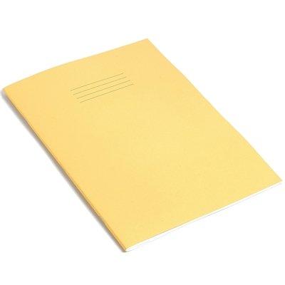 RHINO B - Quaderno formato A4, 64 pagine, confezione da 10, colore: Giallo