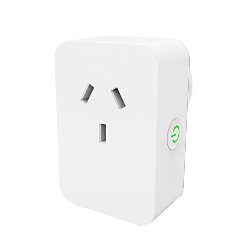 LYA Mini-WiFi-Smart-Buchse, Netzstecker Alexa Verwenden Sie die Mobile Google-Startseite-APP-Fernbedienung, WiFi-Voice-Remote-Control-Buchse